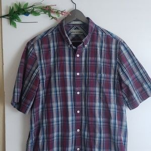 Nordstrom mens short sleeve button down xl C78